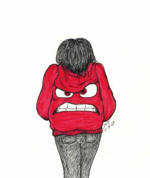 She Wears Her Anger Like A Jacket