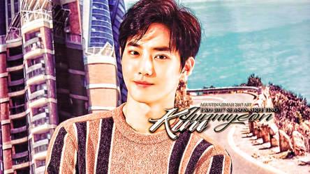 Suho-  EXO 2017 Season Greeting by nazimahagustina