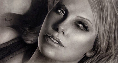 Charlize Theron by Haliestra