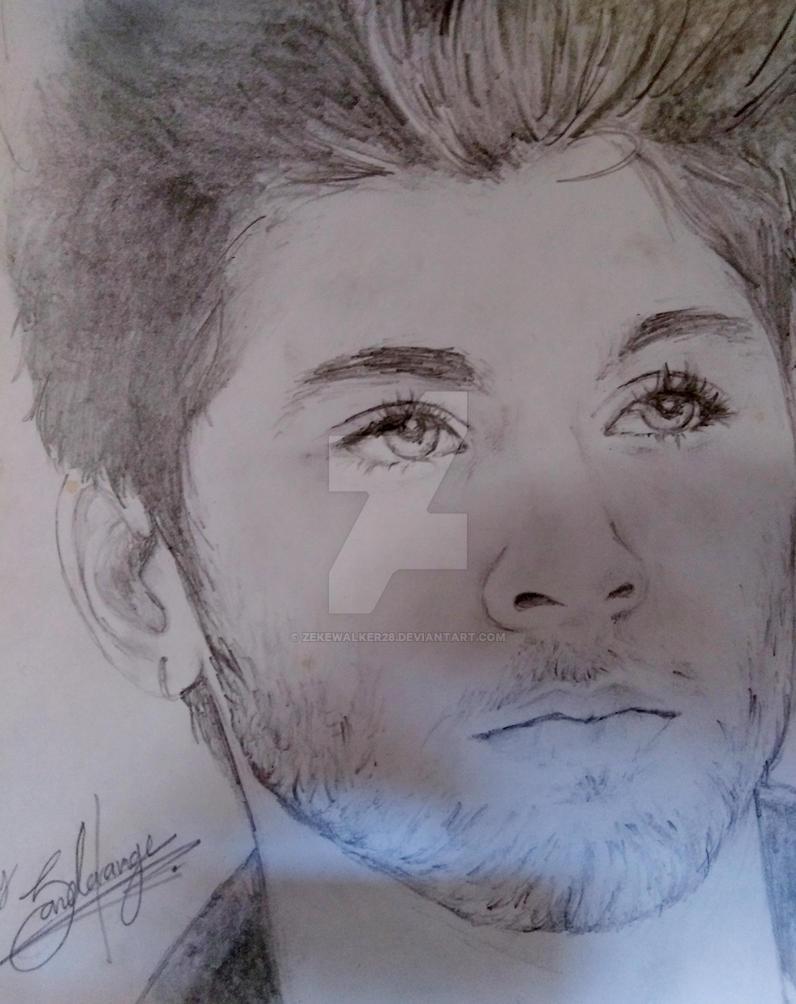 Zayn malik pencil drawing by zekewalker28