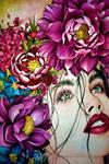 Watercolor portrait II by ZekeWalker28