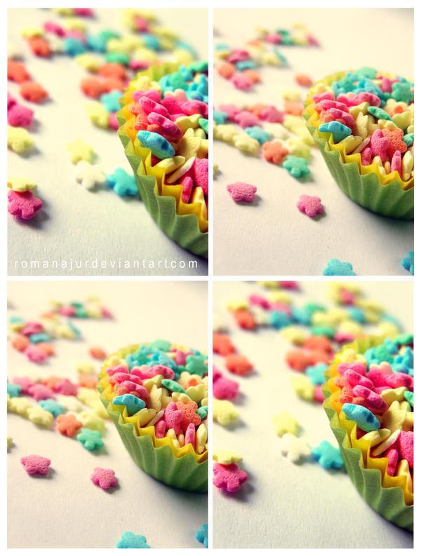 Candy flowers II by RomanaJur