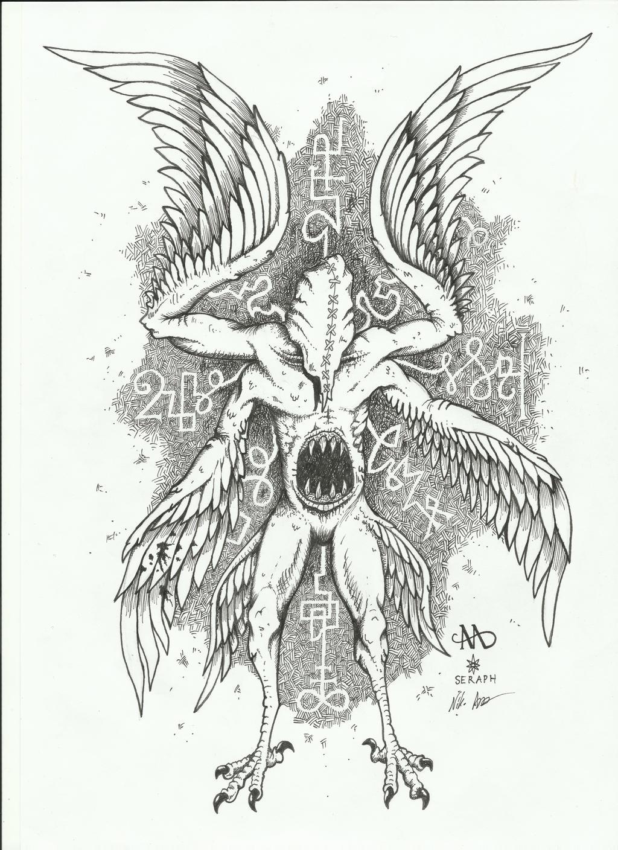 Seraph by NikoAnttila