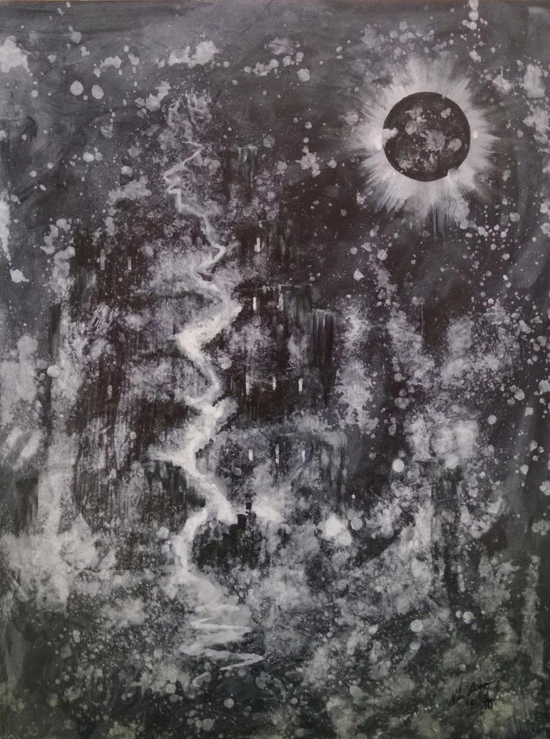 Sun Swallowed Over Babel by NikoAnttila