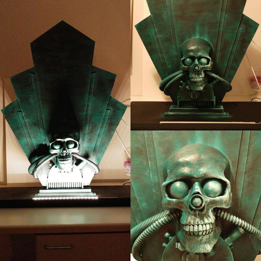 Nemecic deco skull by NikoAnttila