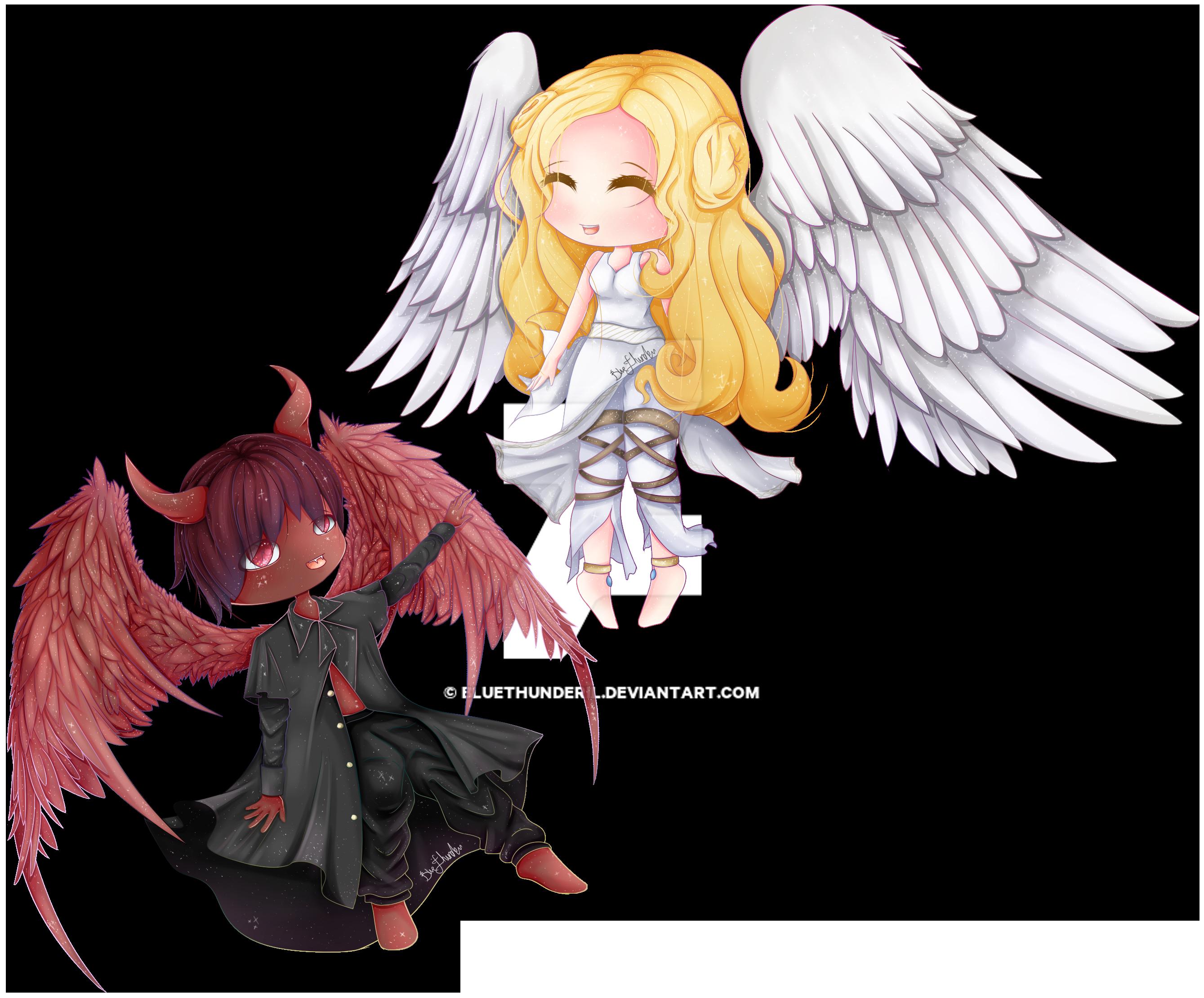 Anime Devil Angel Love   www.imgkid.com - The Image Kid ...