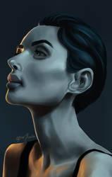 Photostudy  Female   Lighting by BlueThunderIL