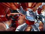 Transformers Movie scene