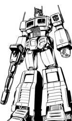 optimus prime generation one by angryangryasian