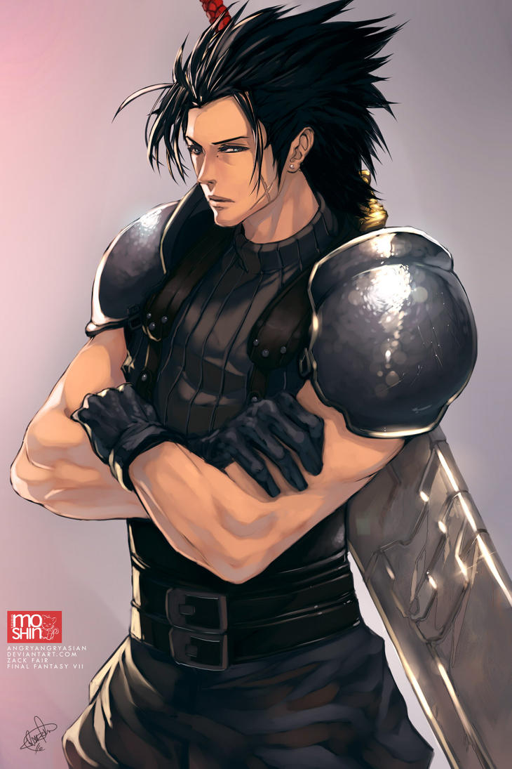 Zack Fair by angryangryasian