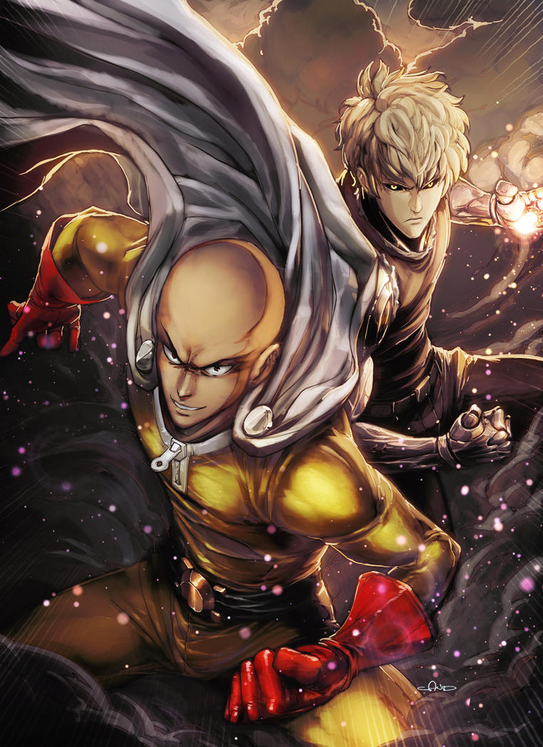 One Punch Man - angryangryasian by angryangryasian