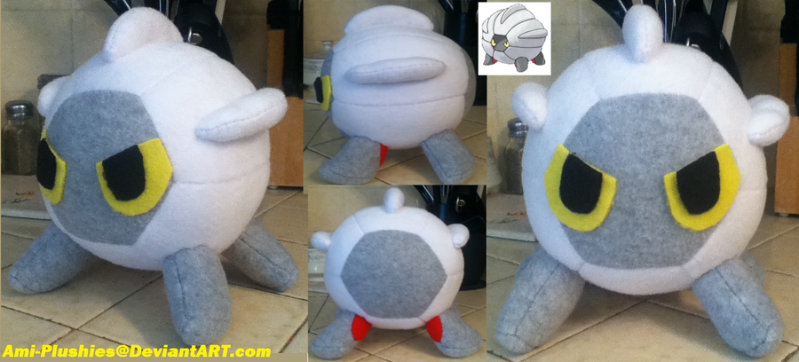 Shelgon Plush by Ami-Plushies