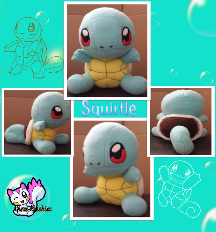 Squirtle Plushie 101
