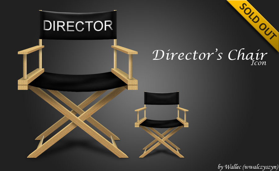 Director's Chair Icon by wwalczyszyn