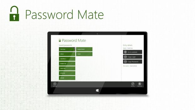 Password Mate Concept App