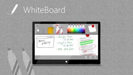 White Board Concept App