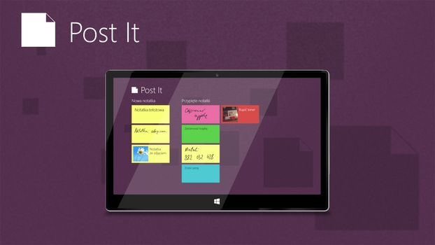 Post It Concept App