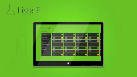 E List Concept App