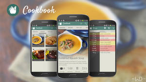 Cookbook Android Application Interface