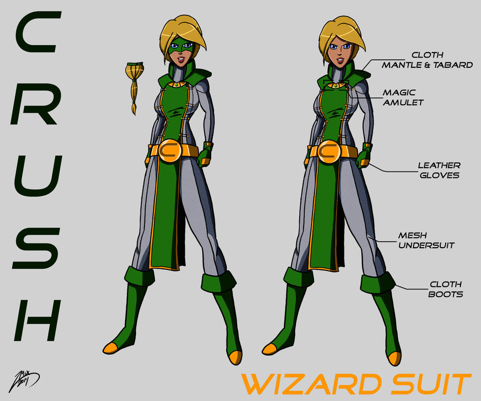 Crush - Wizard Suit by OriginalUnoriginal