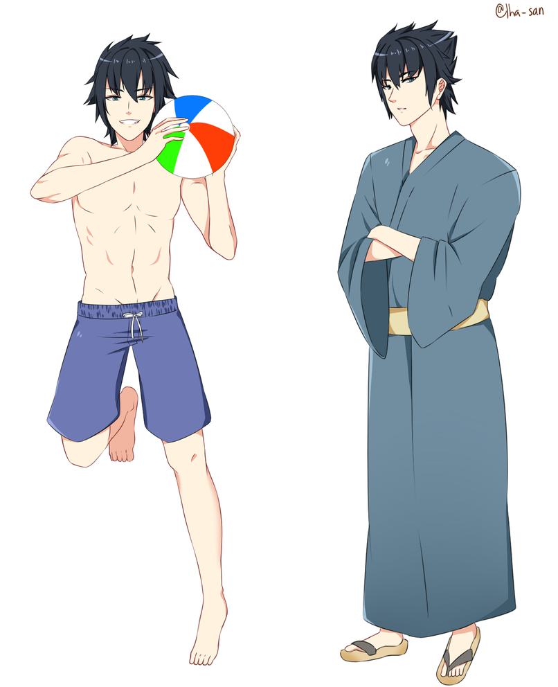 Summer Noctis by Lha-san