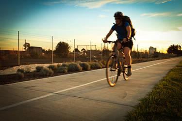 Faire de la bicyclette by DesignByKai