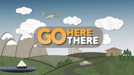 Go Here Go There title design by DesignByKai