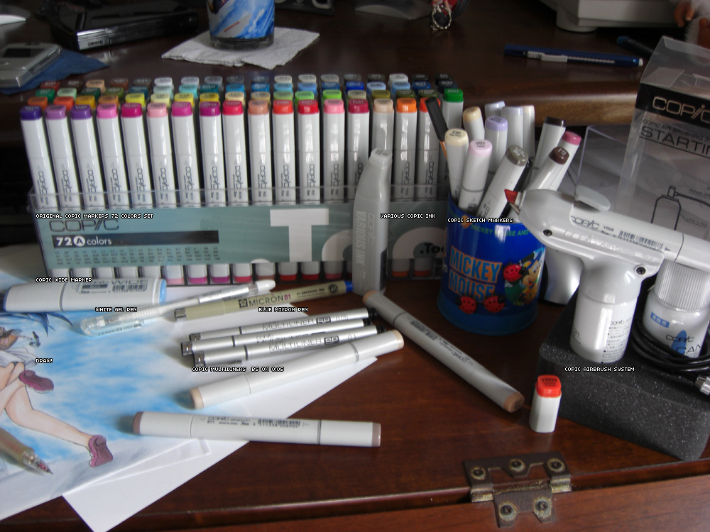 Copic Markers Collection by asukakazama