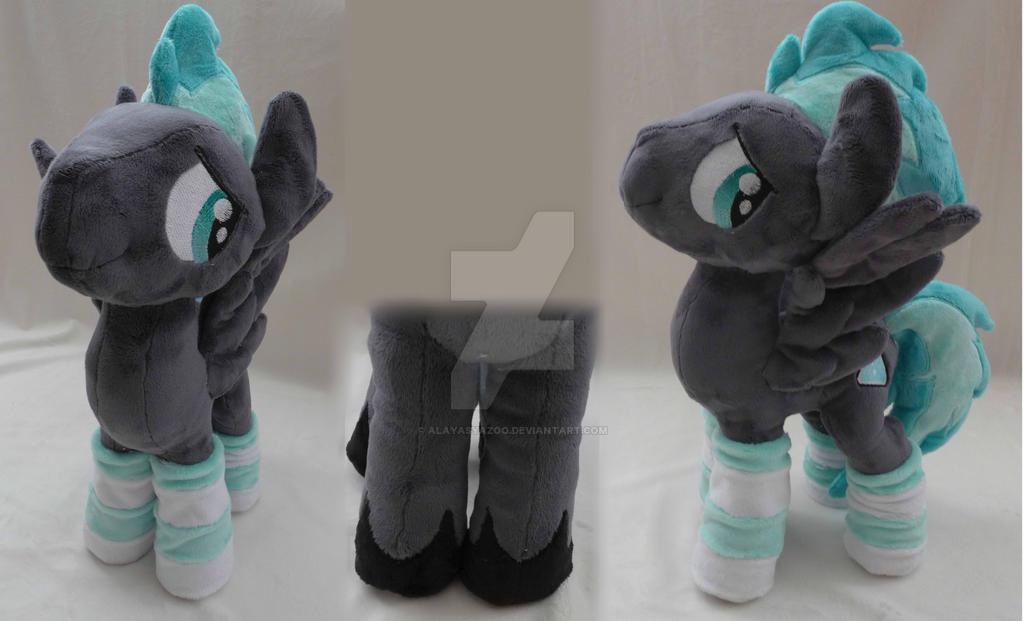 Custom made MLP OC NightFlash by AlayasYazoo