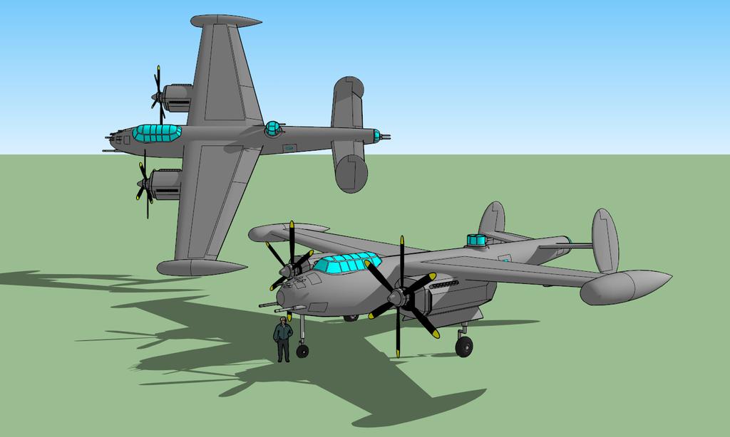 Extremi PF-0 Banshee Heavy Patrol Fighter/Attacker by killerweinerdog