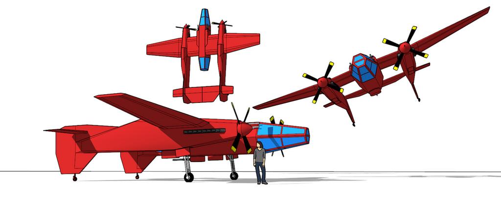 Damontian Dsc-120 Schurke Night Fighter by killerweinerdog