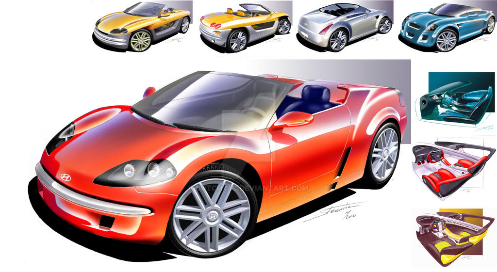 design ideation for small open sports car by dutchy4c on deviantart. Black Bedroom Furniture Sets. Home Design Ideas