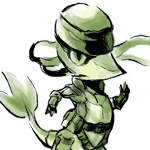 Snivy as Snake Avatar by ctizz36