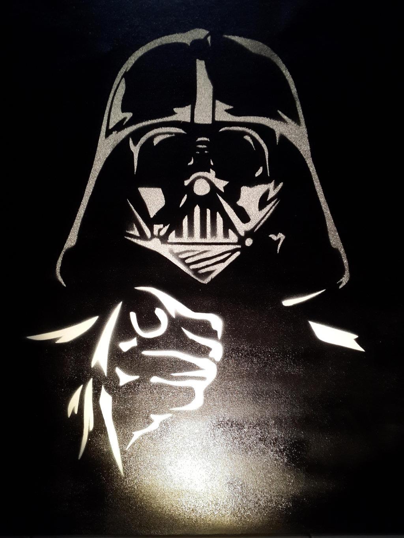 Darth Vader Stencil by pratadhia on DeviantArt