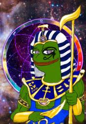 Kek, God of Memes! (Cosmic Background)