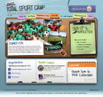 Total Sports Camp Website