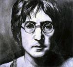 John Lennon Portrait by Cameron-Schuyler