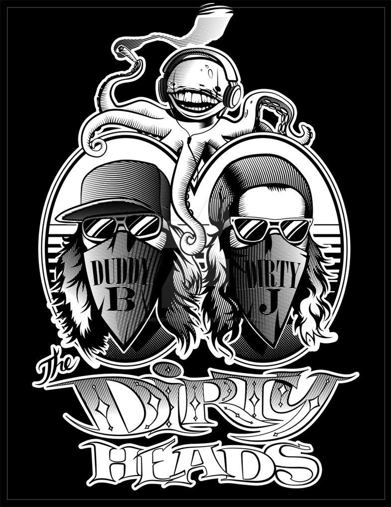 Shirt design wallpaper - Dirty Heads Tee Shirt Design By Cameron Schuyler