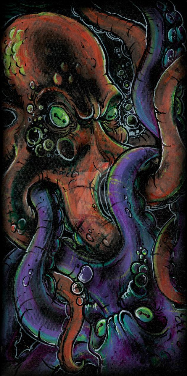 Octofight by Cameron-Schuyler