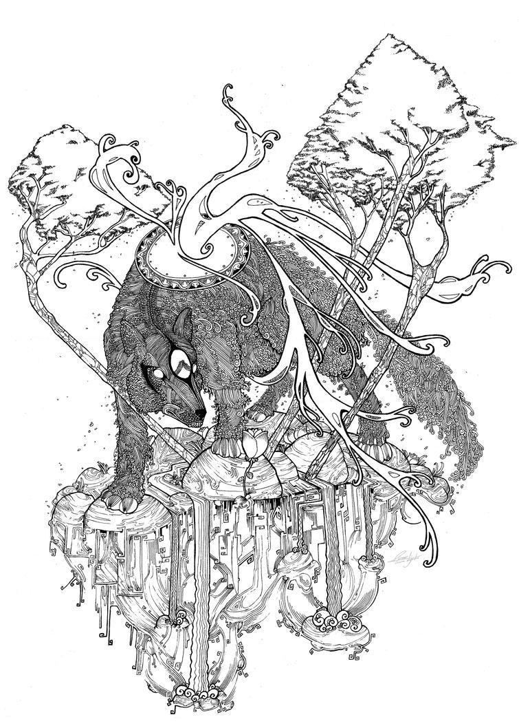 okami contest by OSCARROMER