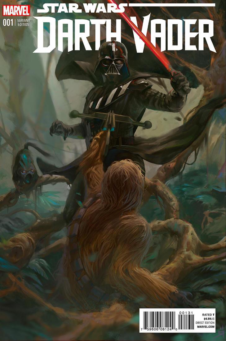 Darth And Chewe by OSCARROMER