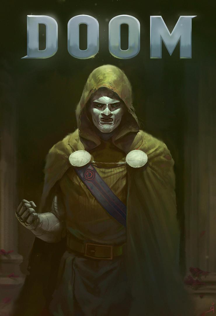 DR.V.DOOM. by OSCARROMER