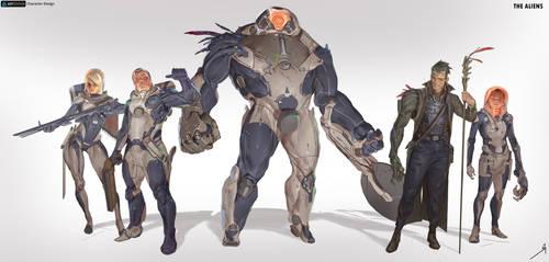 Heroes by OSCARROMER