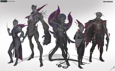 Villains by OSCARROMER