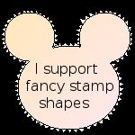 Fancy stamp by Blackberrypie22