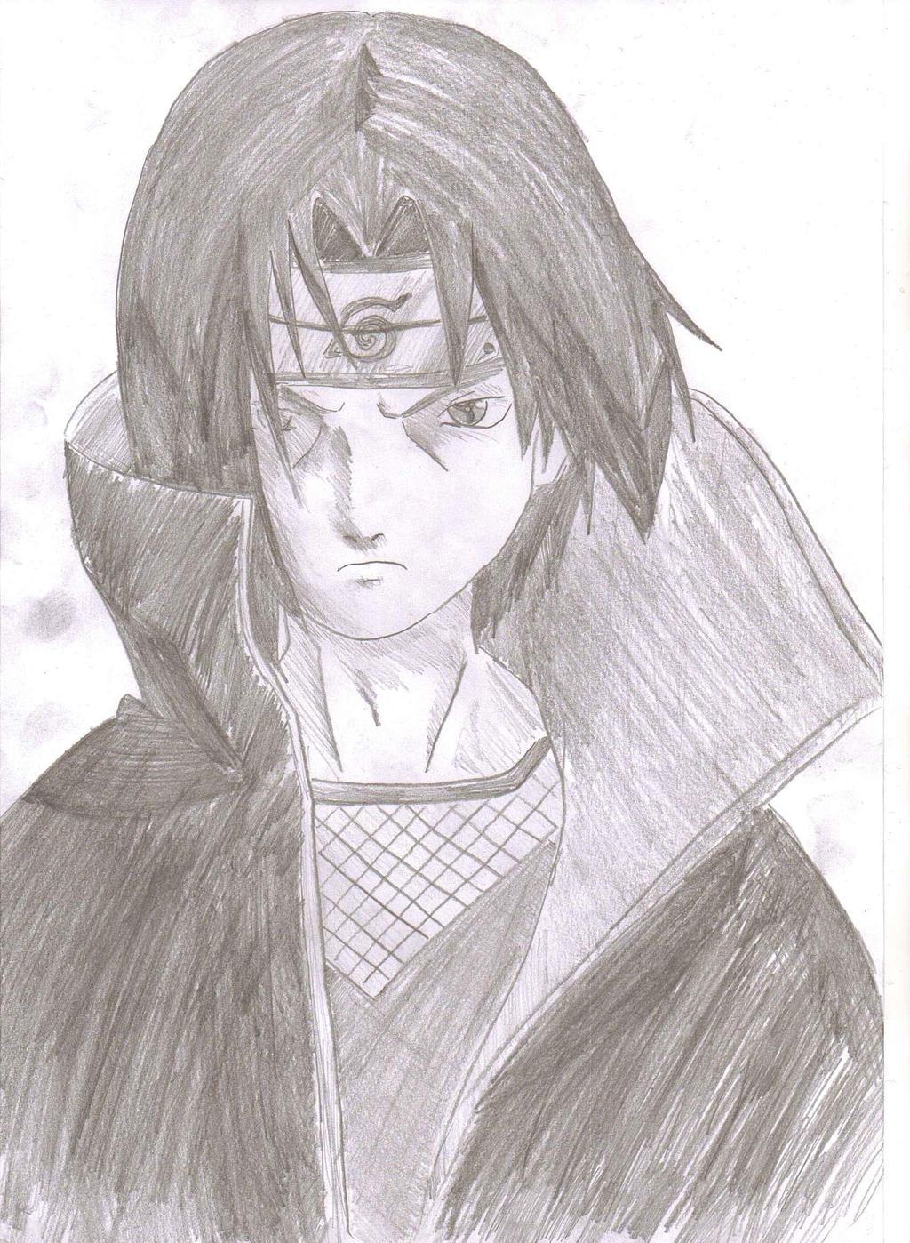 Itachi uchiha akatsuki drawings