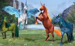 Elemental Unicorns