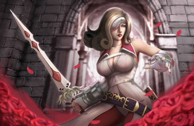 Beatrix FF9 Fanart by thomasukun