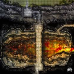 A3 GRID Chasm by Zatnikotel