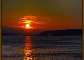 A Seattle Sunset by Mackingster
